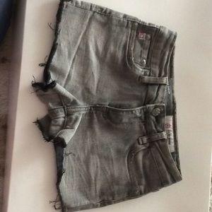 Girls jean shorts super cute